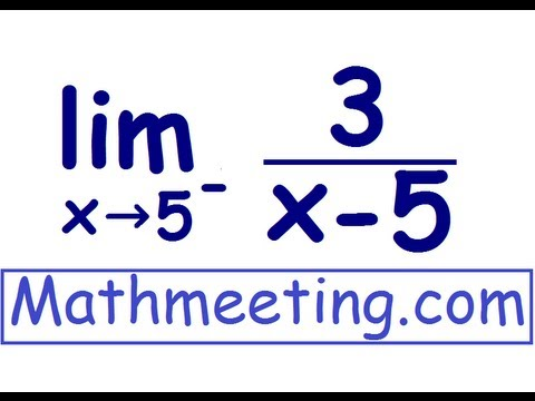 One sided Limits - Calculus