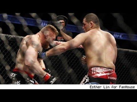Brock Lesnar vs Cain Velasquez Full Fight Night Result FULL SCREEN