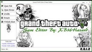 GTA 5:HOW TO USE HAZZERD SAVE EDITOR [XBOX 360]