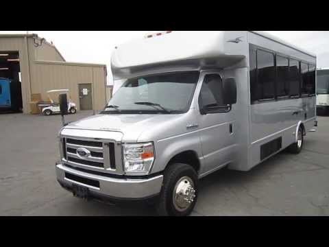 Used Shuttle Bus - 2012 Ford Starcraft For 25 Passengers w/ Navigation And Only 5786 Miles! S71331