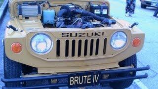 1972 Suzuki Brute IV Tan MtD071412