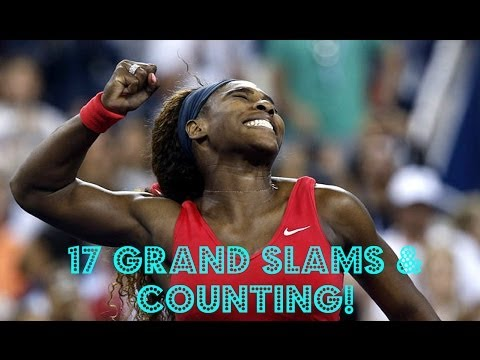 NEW:All *17* of Serena Williams Grand Slams Winning Moments;Including US Open-2013
