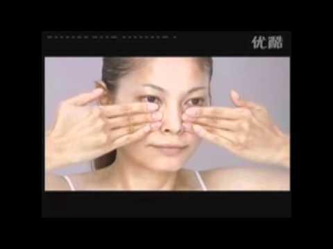 Японский массаж лица (видео урок)
