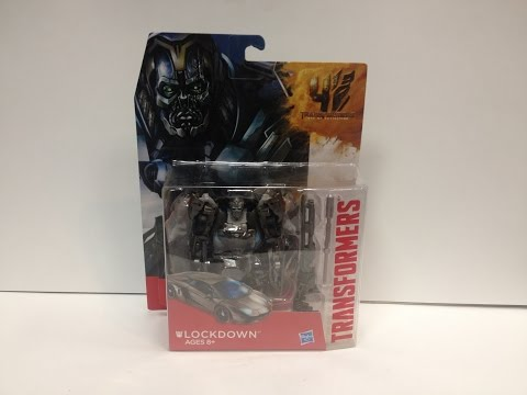 Transformers: Age of Extinction - Deluxe LOCKDOWN