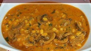 Mushroom Corn Cashew Curry..