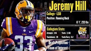 2014 NFL Draft Profile: Jeremy Hill Strengths And