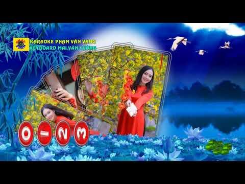 Lá thư đô thi - Karaoke Nhạc sống Phạm Văn Vàng