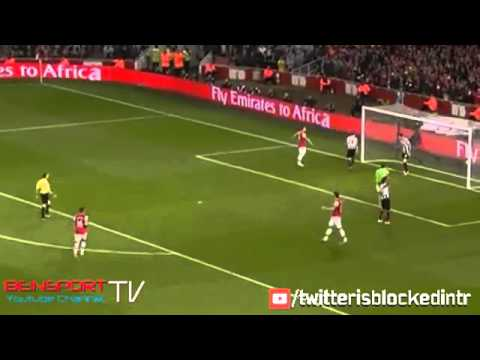 Arsenal vs Newcastle United 3-0 All Goals & Full Highlights 28-04-2014