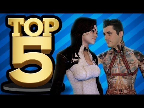 TOP 5 SEX SCENES IN GAMES (Top 5)