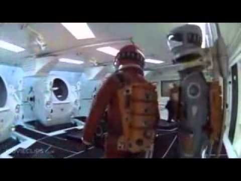 2001: A Space Odyssey - Corridor Trailer and iPhone 4 and iPhone 5 Case
