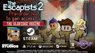 The Escapists 2 - Transport Prison Reveal Trailer