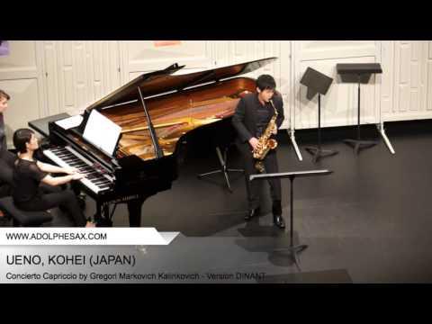 Dinant 2014 – UENO Kohei (Concierto Capriccio by Gregori Markovich Kalinkovich – v. DINANT)