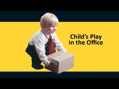 Child's Play Manual Handling - Office Version - Safetycare Workplace Safety Video