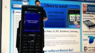 Liberar Sony Ericsson J108i Cedar De Orange, Movistar Y