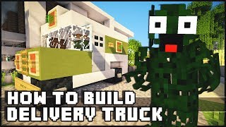 Minecraft Vehicle Tutorial - Small Delivery Truck