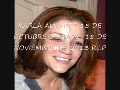 Muere la actriz mexicana Karla Álvarez