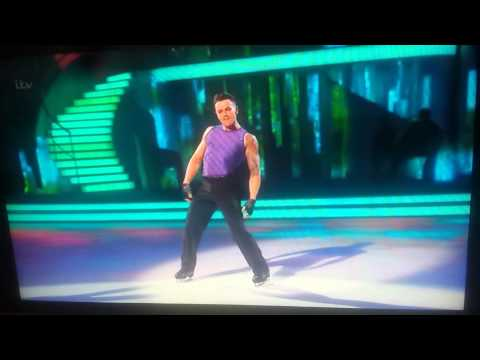 Ray Quinn Dancing on Ice 'Kiss'