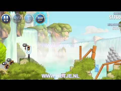 Angry Birds Star Wars 2 Naboo Invasion b1-4 3 stars