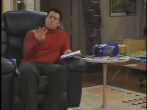 FRIENDS - Joey learning French,