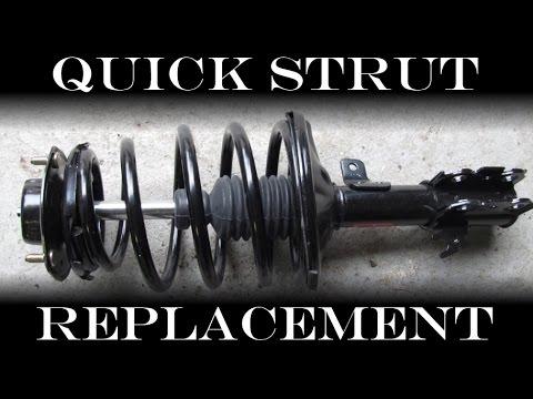 Quick Strut Installation Toyota Camry