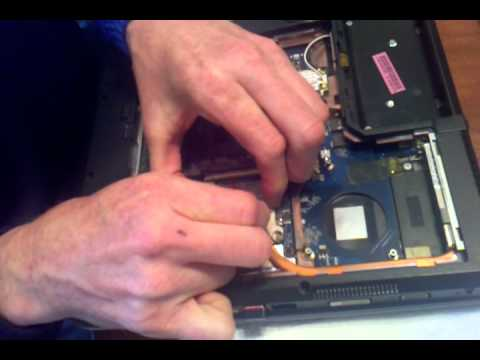 replacing video card in Acer Aspire Laptop 77xx.3gp