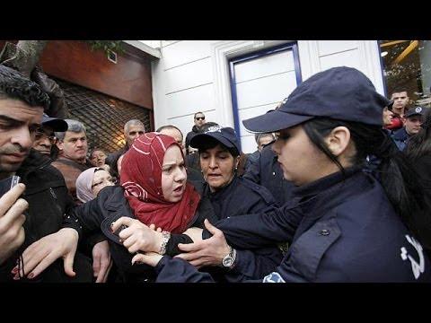Algérie : une manifestation contre un 4e mandat de Bouteflika dispersée