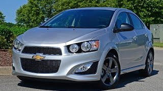 2014 Chevrolet Sonic LTZ Turbo (Aveo) Full Review