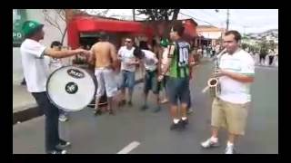 CHARANGA DA BARRA UNA (TORCIDA DO AM�RICA) - V�DEO 1