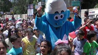 مهرجان إحتفالي في دمشق للأطفال الناجين
