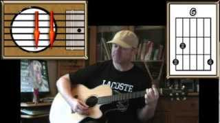 American Pie Don McLean Acoustic Guitar Lesson (easy