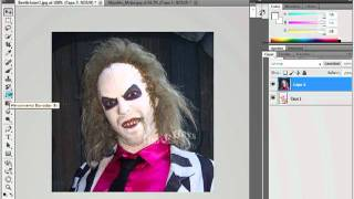 Photoshop CS5. Cambiar el rostro