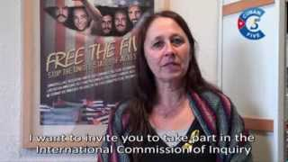 Katrien Demuynck, Coordinator, European Campaign to Free the Five