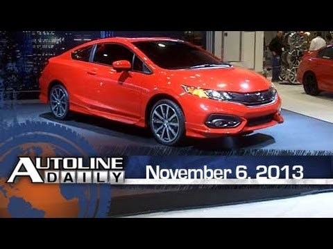 First Look - Honda Civic Coupe from the Floor of SEMA - Autoline Daily
