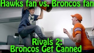 Seahawks-Broncos: Trash Talking Fans Get Into An EPIC