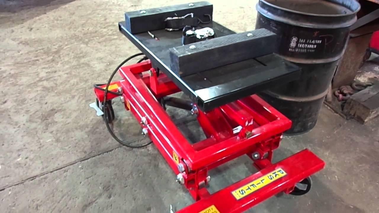 2 000lb Capacity Truck Transmission Jack 866 607 4022