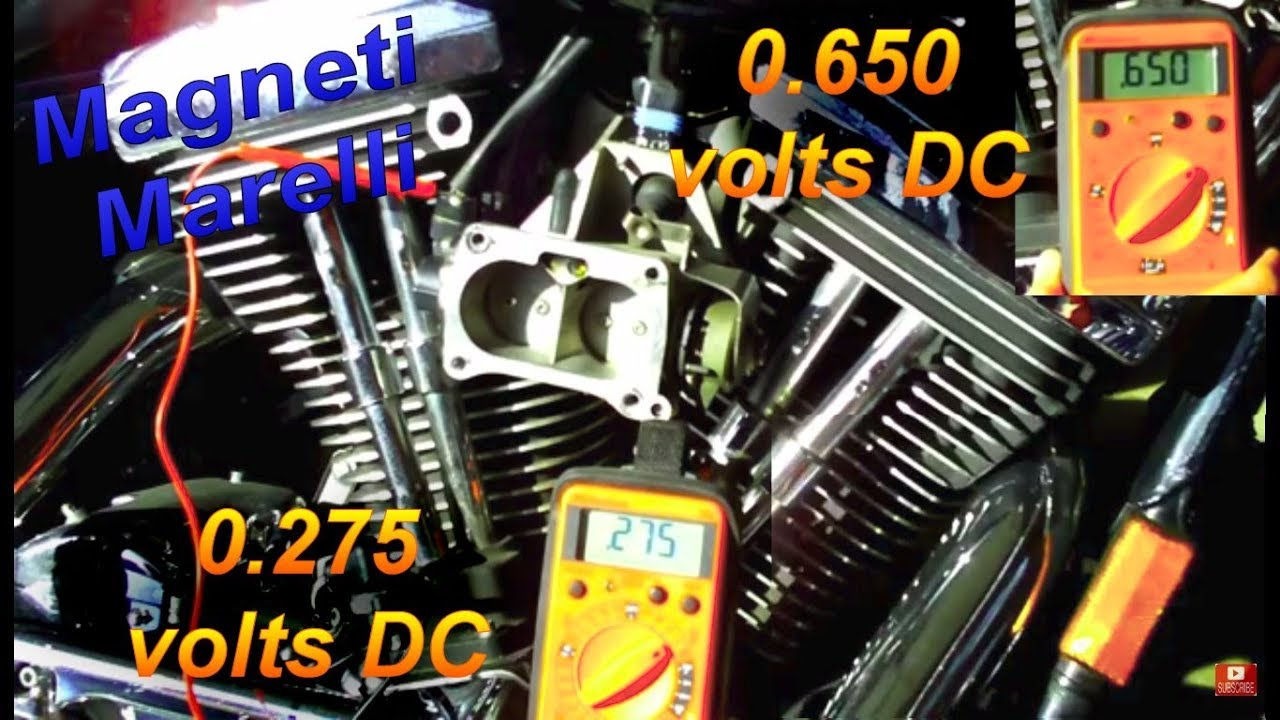 Harley Davidson Magneti Marelli Fuel Injection Settings