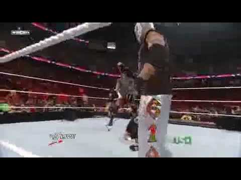 Rey Mysterio and Triple H shaves CM Punk's hair!