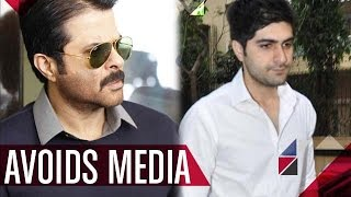 Anil Kapoor's son, Harshvardhan Kapoor AVOIDING media