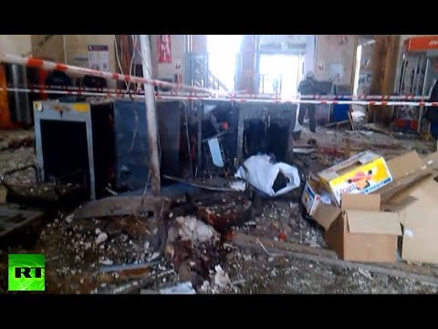 GRAPHIC: Railway station in Volgograd after deadly suicide attack