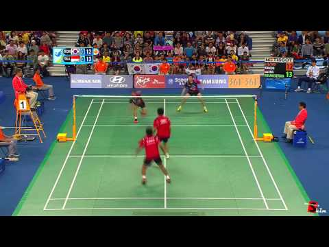 Best of badminton men double (HIGHLIGHTS, FUNNY MOMENTS, TRICK SHOTS, DIVES,, ..)