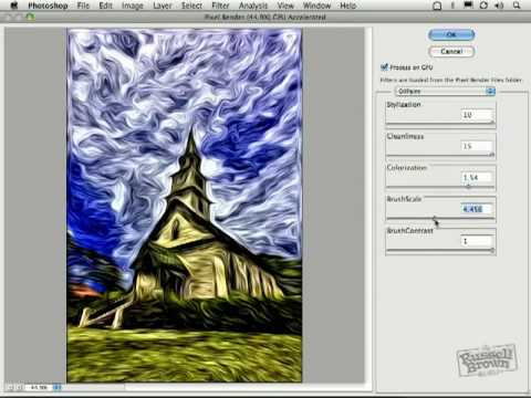 Picasa Oil Painting Effect