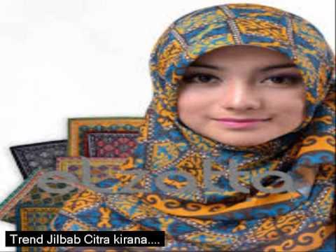 tutorial hijab - cara memakai jilbab Citra Kirana
