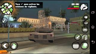 Tutorial Grand Theft Auto: San Andreas Mobile [Cheats