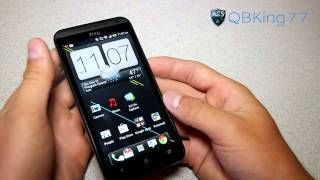 How To Take A Screen Shot On The HTC EVO 4G LTE, HTC One X