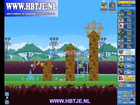 Angry Birds Friends Tournament Level 5 Week 121 (tournament 5) no power-ups