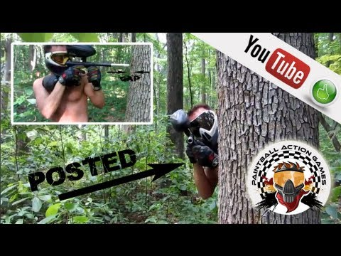 How To Play Paintball: Intermediate paintball tip - How to post up by DangerMan