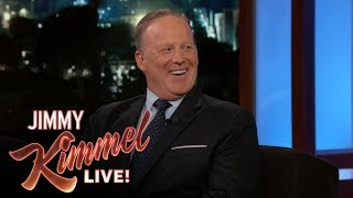 Jimmy Kimmel's FULL INTERVIEW with Sean Spicer