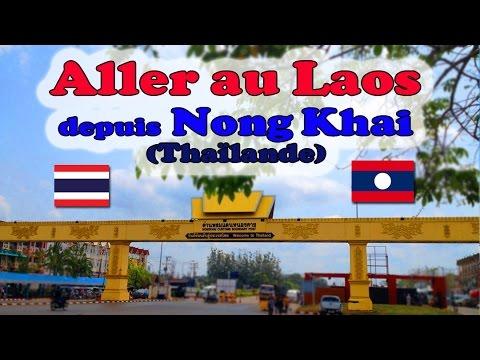 passer la frontière pour le laos à nong khai