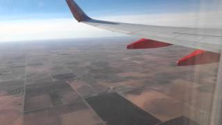 Southwest Airlines Boeing 737-800: Landing Lubbock, TX coming from Dallas Love Field, TX RWY 26