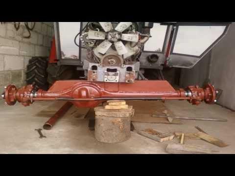 URSUS C-360 4X4 |THERolnicy|Montaż przedniego napędu ursus c-360|
